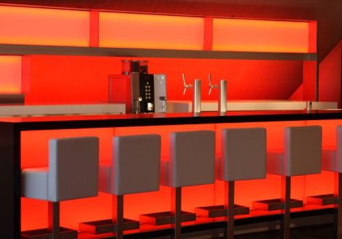 Red Lit Bar